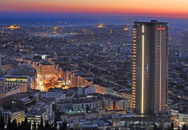 İstanbul Marriott Hotel Sisli